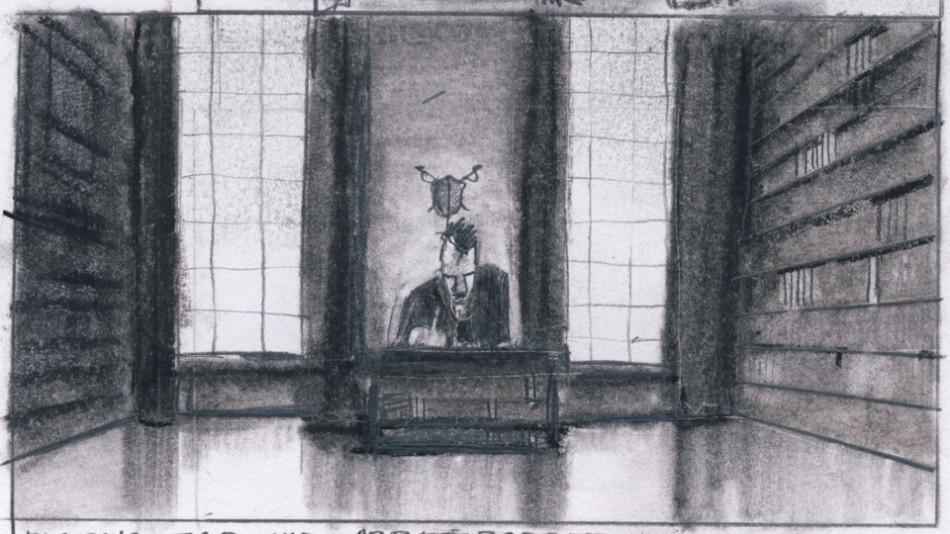 Eugen as his father, Portrait of a reluctant Gentleman, Porträtt av en Motvillig Herre