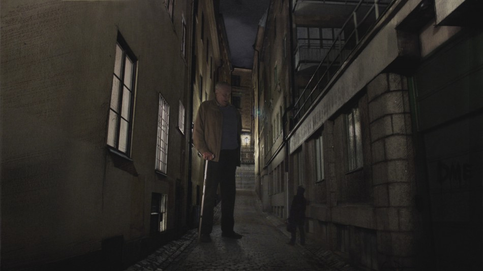 Eugen in the alley