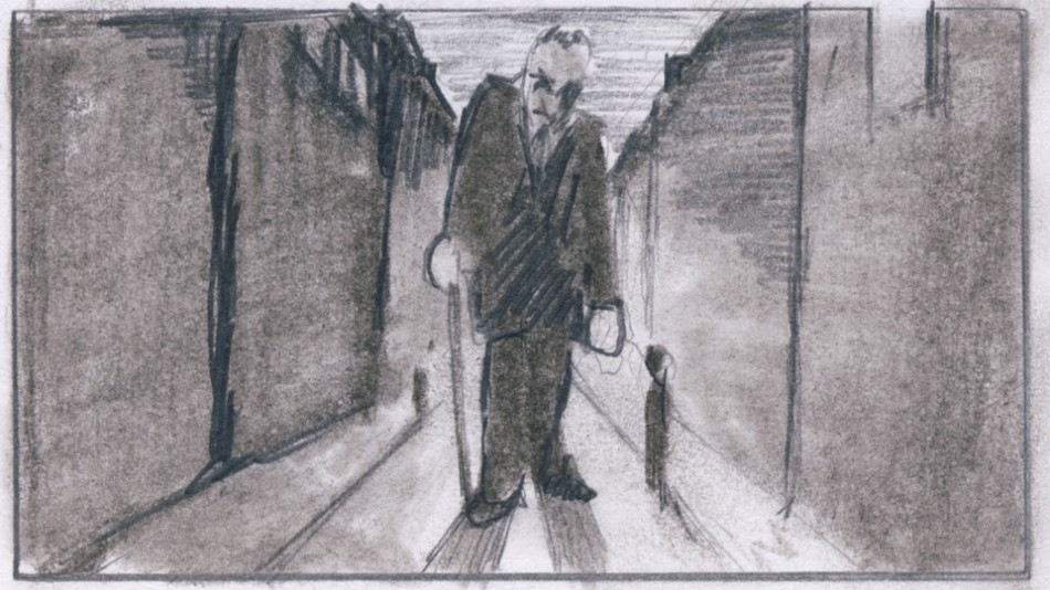 Eugen in the street
