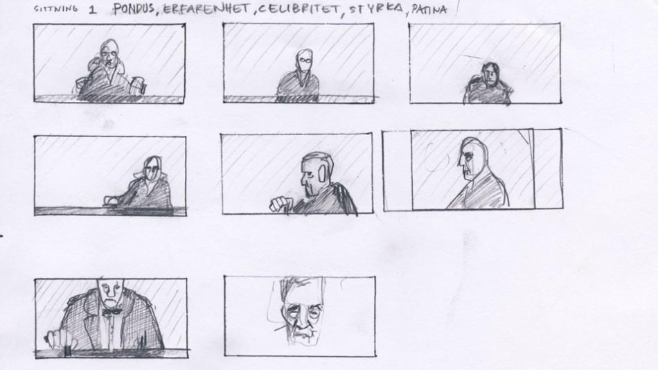 Portrait Compositions, Portrait of a Reluctant Gentleman, Porträtt av en motvillig herre